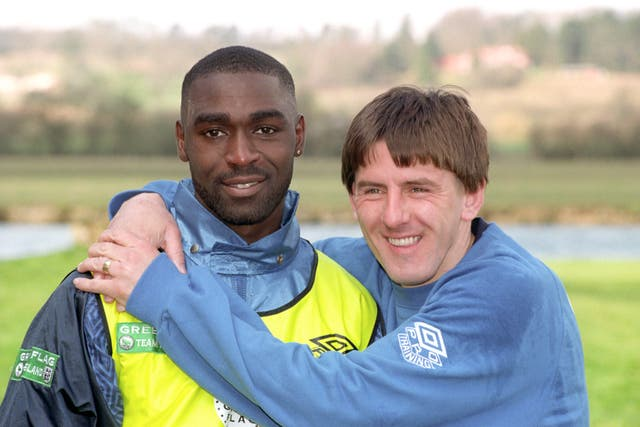 Beardsley had played alongside Andrew Cole for both Newcastle and England.