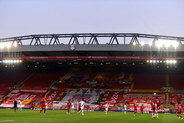 Liverpool v Crystal Palace – Premier League – Anfield