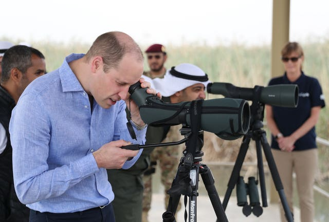 Royal tour of Kuwait and Oman – Day 2