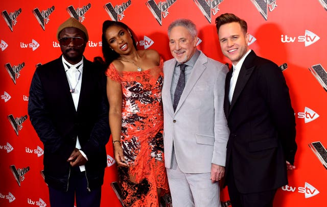 The Voice UK photocall in London