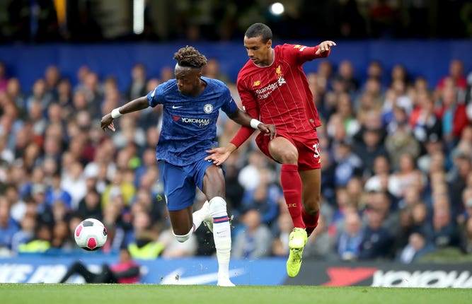 Tammy Abraham could not find the net for Chelsea on Sunday