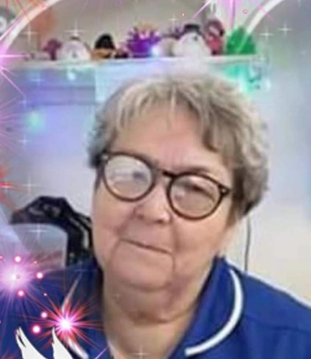 Staff nurse Liz Glanister