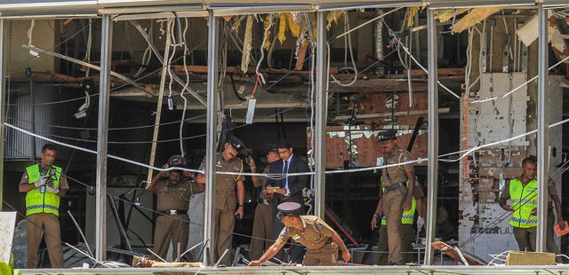 Srl Lanka Church Blasts