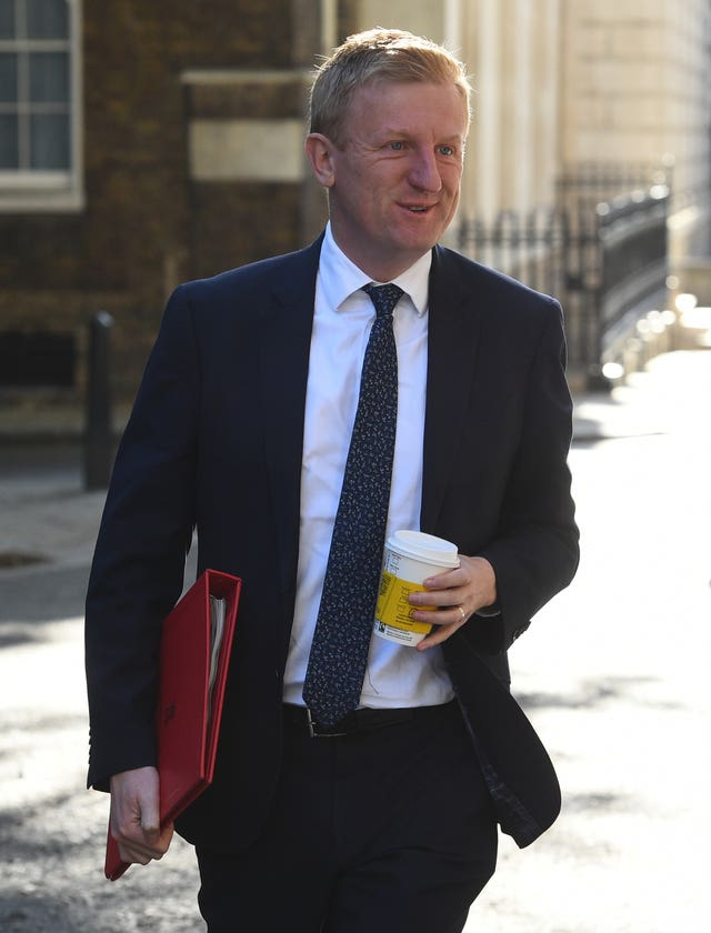DCMS secretary of state Oliver Dowden will meet with sports leaders on Tuesday afternoon