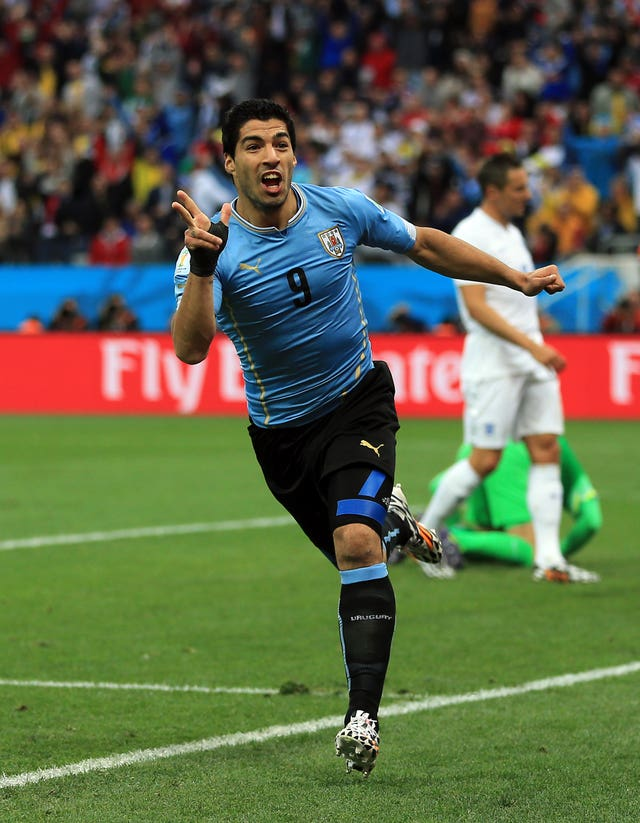 Suarez will carry a lot of Uruguay's hopes