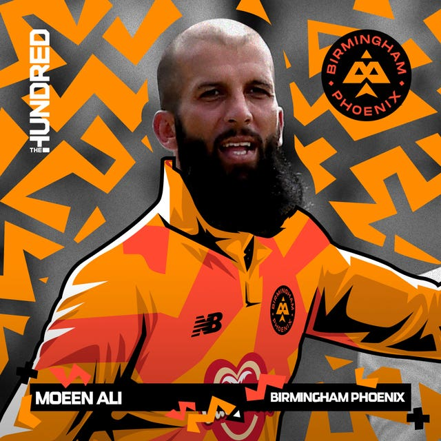 Moeen Ali was set to captain Birmingham Phoenix in The Hundred (ECB/PA)