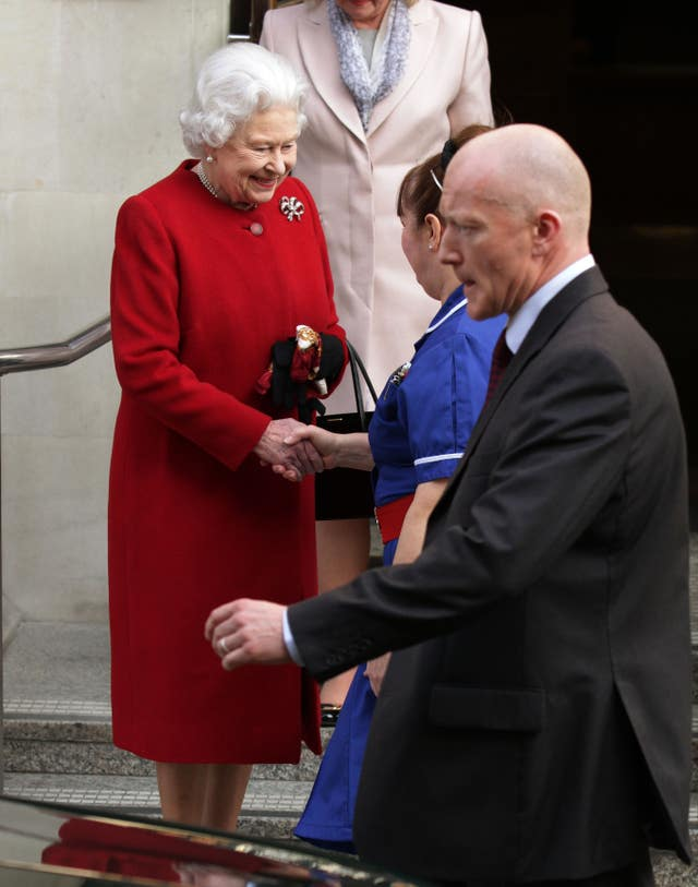 The Queen in 2013