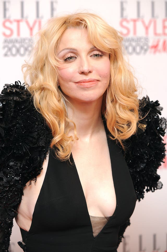 Courtney Love is being sued for unspecified damages by her former son-in-law (Ian West/PA)