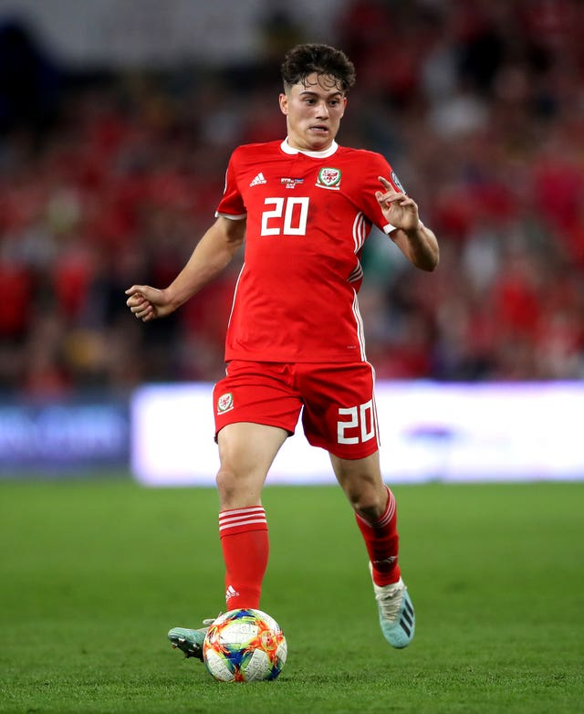 Daniel James scored Wales' winner against Slovakia in Cardiff