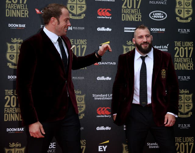 There was no joking around between Alun Wyn Jones and Joe Marler on Saturday