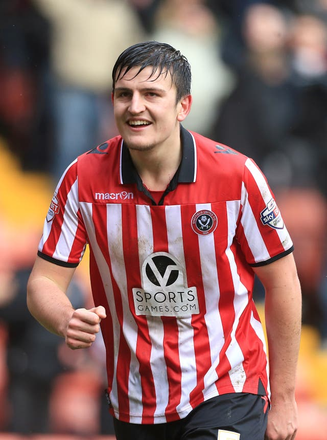 Maguire began his career with hometown Sheffield United