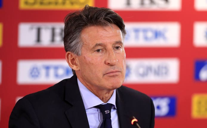 Lord Coe is the president of athletics' world governing body the IAAF