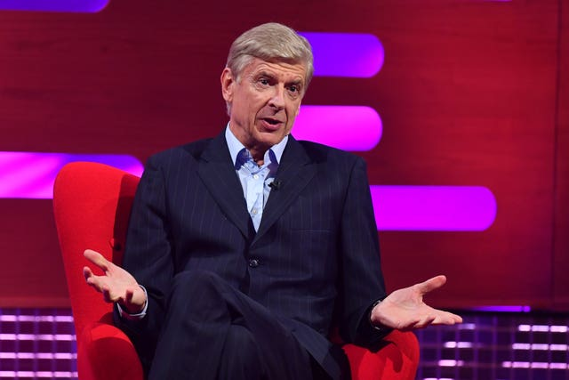 Arsene Wenger presented to the IFAB annual business meeting on Wednesday