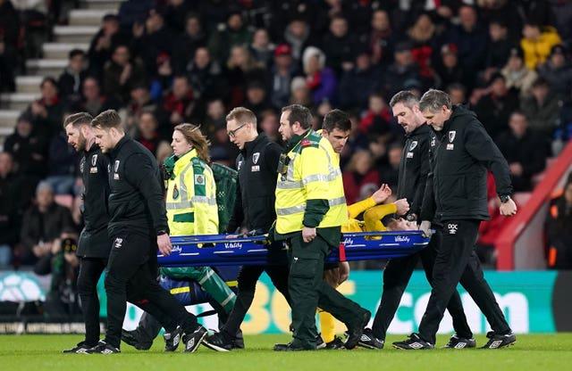Arsenal lost defender Shkodran Mustafi to injury during Monday's FA Cup win at Bournemouth.