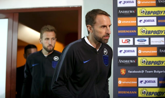 Gareth Southgate and Harry Kane lead England into a key match against Bulgaria on Monday
