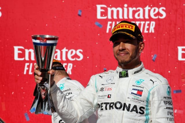 Lewis Hamilton has won six world titles
