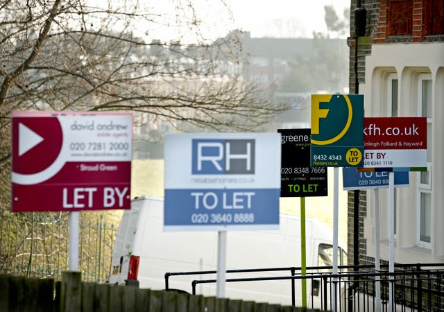 To Let and Let By estate agent signs
