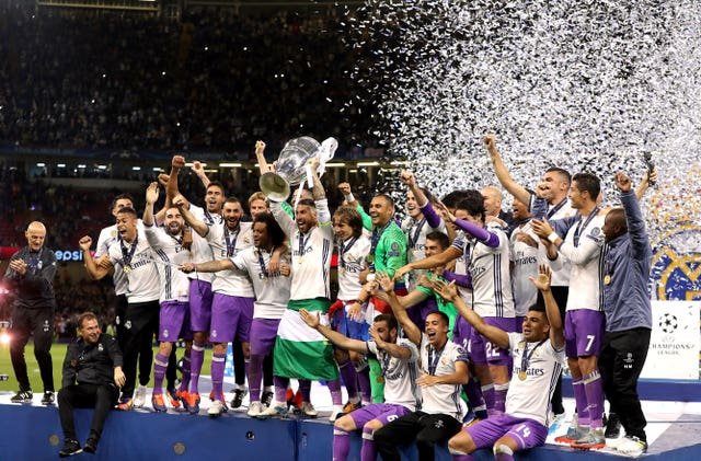 Real Madrid lifted the Champions League in 2017 at the expense of Juventus in the final