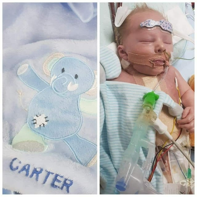 Carter Cookson heart donation appeal