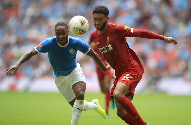 Manchester City v Liverpool – Community Shield – Wembley Stadium