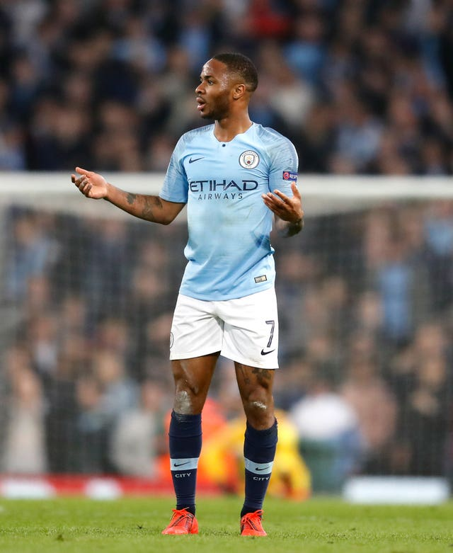 Raheem Sterling saw his late goal ruled out after a VAR review