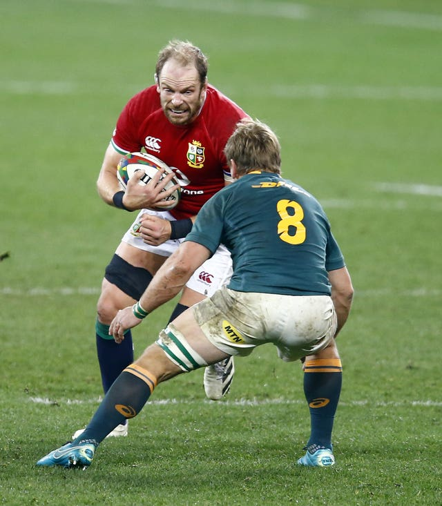 Alun Wyn Jones will again captain the Lions as they look to claim a series victory