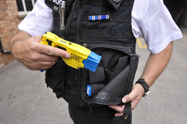 Taser survey