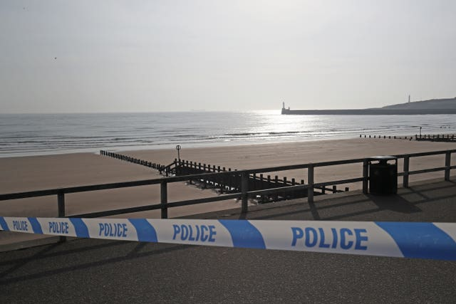 Two dead on beach