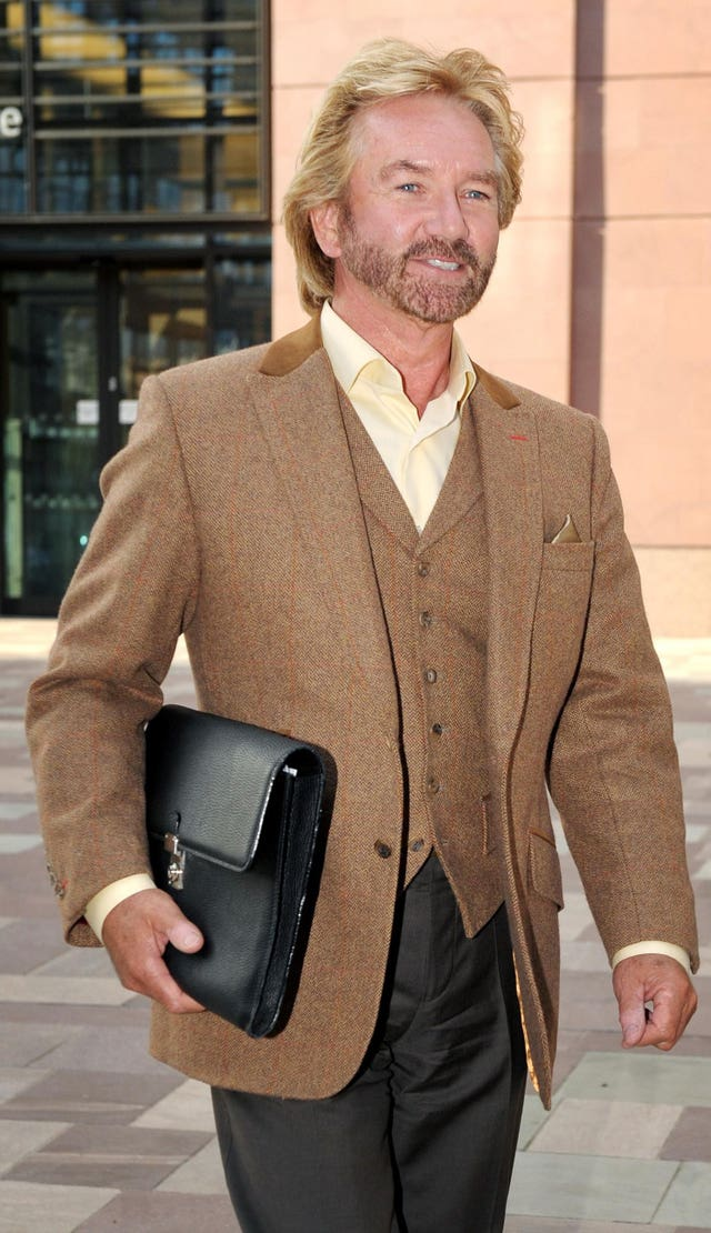Noel Edmonds claim