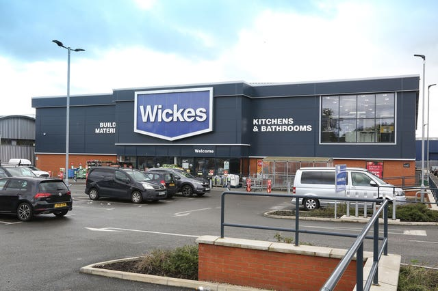 Wickes financials