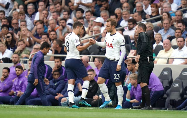 Christian Eriksen's introduction changed the game for Spurs against Villa