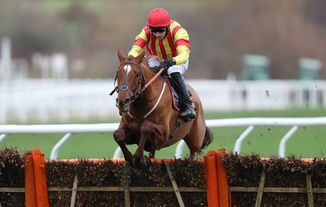 Jarveys Plate, seen winning over hurdles, will bid to get back to winning ways over fences at Perth (David Davies/PA Images)