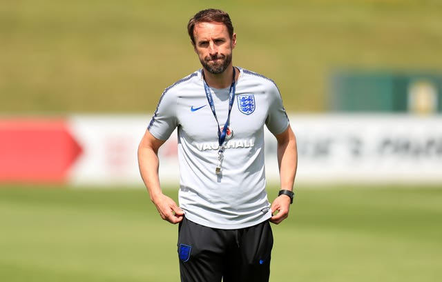 Gareth Southgate, pictured, says he sympathises with Danny Rose (Mike Egerton/PA)