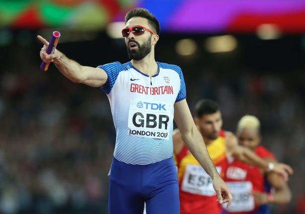 Martyn Rooney will compete in his eighth World Championships