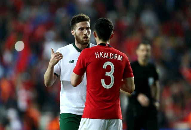 Matt Doherty (left) has had to bide his time for a chance to impress at international level