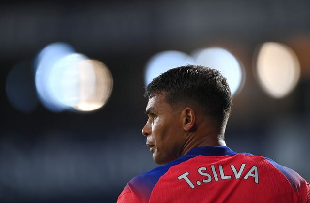Thiago Silva made his Premier League debut at West Brom (Catherine Ivill/PA).