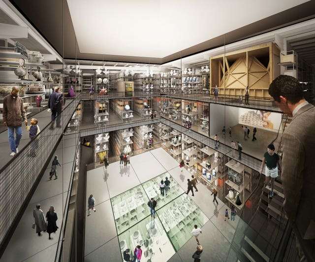 Plans for the new V&A collection and research centre at Here East