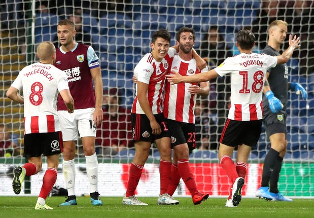 Will Grigg made the most of Danny Drinkwater's mistake to equalise for Sunderland