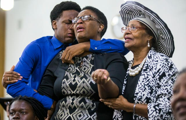 The family of Botham Jean