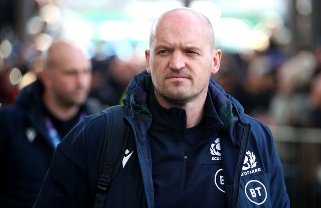 Gregor Townsend is in regular contact with Finn Russell