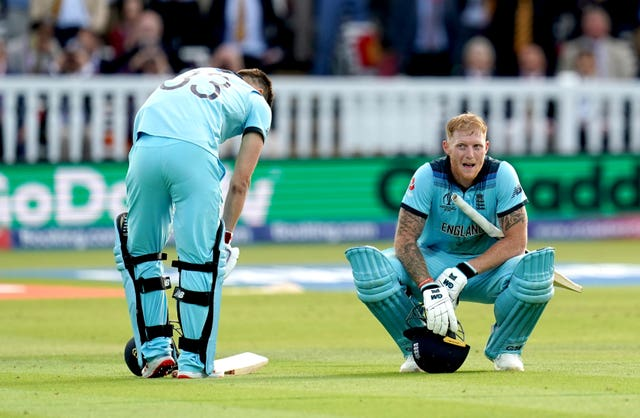 Ben Stokes, now reinstated as vice-captain, had nothing left at the end of the World Cup final