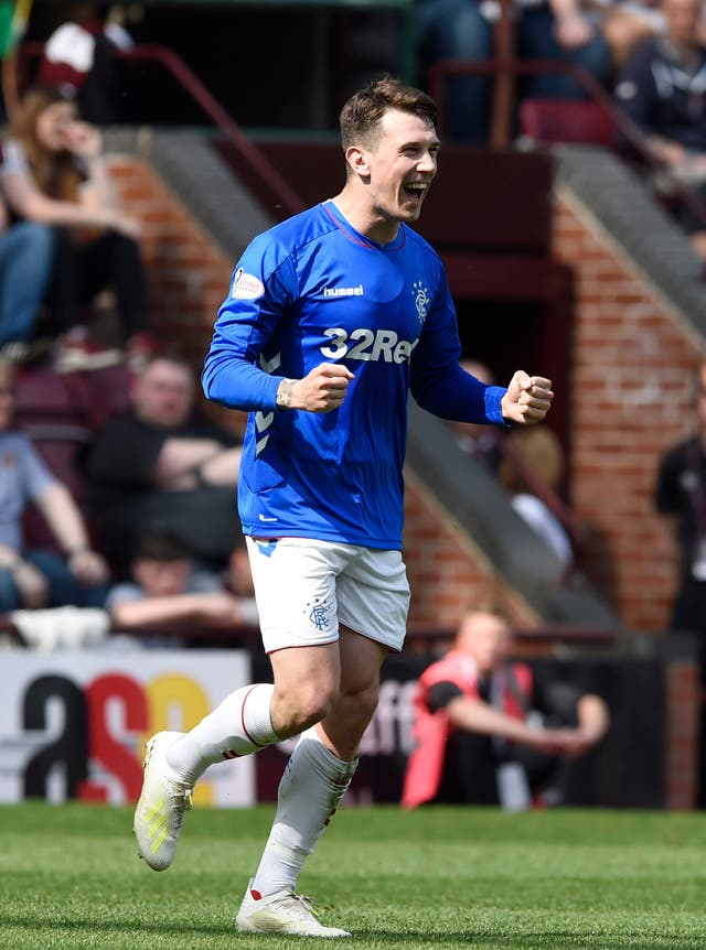 Ryan Jack doubled the visitors' lead