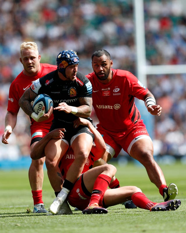 Exeter Chiefs v Saracens – Gallagher Premiership Final – Twickenham Stadium