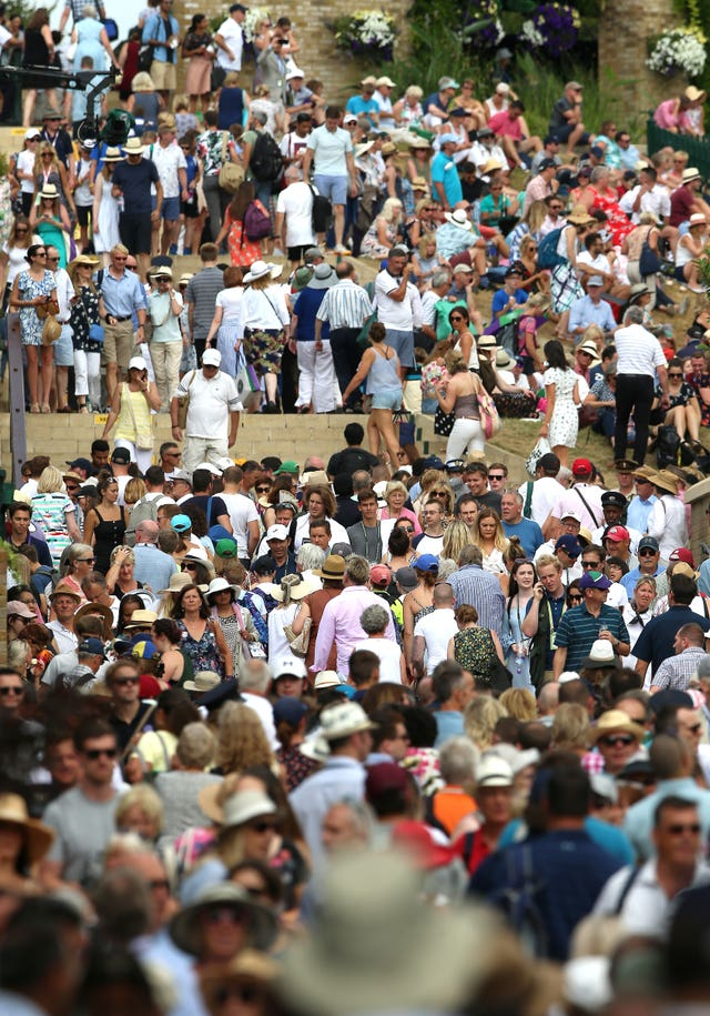 Wimbledon's grounds have felt increasingly cramped