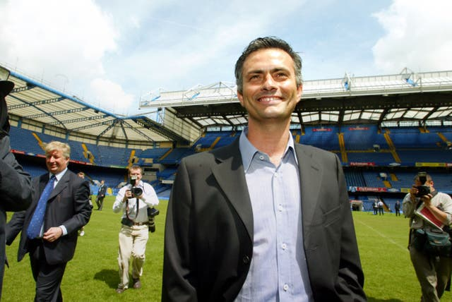After Porto's shock Champions League success, Jose Mourinho was named the new Chelsea boss in 2004