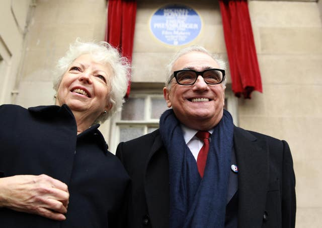 Heritage plaque for Michael Powell and Emeric Pressburger