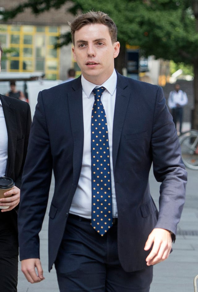 Nathan Gray is accused of offences under the Representation of the People Act 1983
