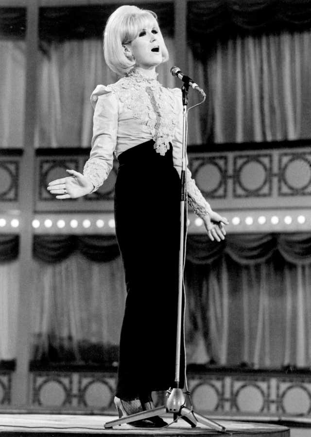 Dusty Springfield's career spanned five decades and at her peak was one of the top British female performers (PA).
