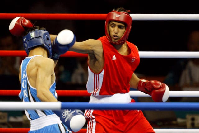 Khan won silver at the Athens Olympics in 2004