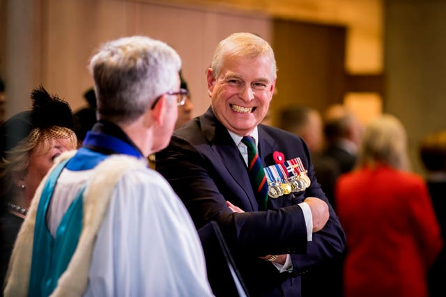 The Duke of York at St Anne's Cathedral